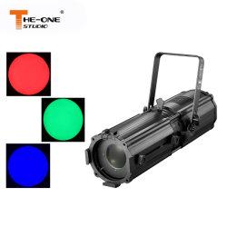 180W à LED RVB Le profil professionnel Zoom Spotlight