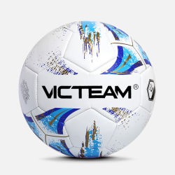 De douane drukte de PromotieBal van het Voetbal van pvc in Massa af