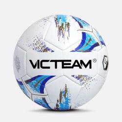 Impresa personalizada PVC promocional balón de fútbol a granel