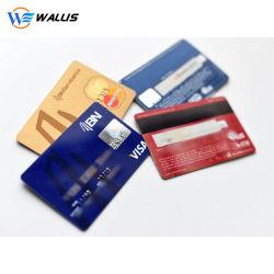 Cr80 de Banda Magnética estándar en blanco de tamaño tarjeta de crédito Loco 3 vía Logotipo personalizado inteligente juego de Club VIP de la pertenencia de la tarjeta de descuento