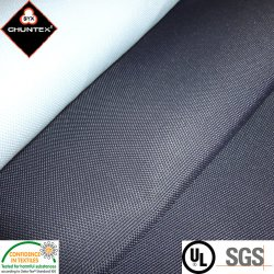 Tissu polyester 600d'Oxford avec retardateur de flamme étanche Revêtement polyuréthane