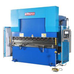 Wc67y 100t/2500 Metal hidráulica CNC, Máquina de prensa de doblado de la placa de prensa de doblado de acero, Nc 100 toneladas de 2500mm Bender