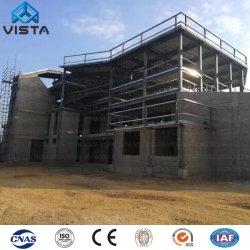 Nouvelle conception de l'industrie mobile moderne modulaires préfabriquées préfabriqués en usine d'entrepôt de l'atelier la lumière de l'acier de construction de châssis fabriqués par la structure du bâtiment