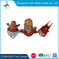 승진 공장 새로운 디자인 주석 단추 도매 싼 목걸이 수 이름표 경찰 군 기장 (488)를 위한 국기 상징 기장