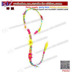 Fleur Accessoires de cheveux Sèche cheveux Daisy de danse de produit de faux bandeau plait dans Rainbow (P1032)