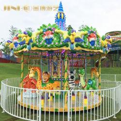 Парк развлечений одним движением и Double Decker Механические узлы и агрегаты на лошадях лошадь веселого перейти за круглым столом Carousel