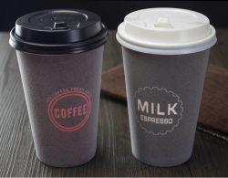 Copos de papel de espuma descartáveis para bebidas com o logotipo personalizado