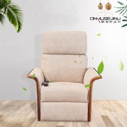 2019 Tissu moderne de gros ensemble de l'accoudoir en bois Bedroom Livingroom Canapé