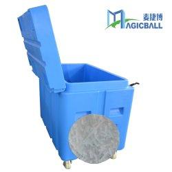 Hoge Capaciteit Twee Opslag van het Gebruik van het Huis van de Container van de Doos van het Ijs van de Beweging van /Easy van Wielen de Droge voor Verkoop