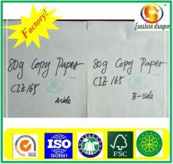 80 g de alta calidad 100%Woodpulp A4 Papel de copia de Office