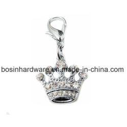 王冠の合金の金属のPendentドッグタッグ