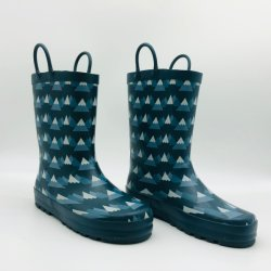 Forest Series Kids Outdoor Rain Boots 방수 고무 부츠