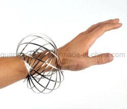 OEM nuevo anillo de acero inoxidable flujo mágico juguete
