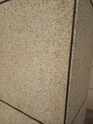 Dalles de granit jaune en pierre naturelle revêtement de mur extérieur/tuiles de façade