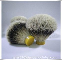 24/67本のSilvertipのアナグマの毛の剃るブラシの結び目