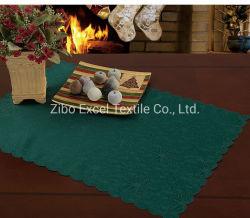 Usine un décor rustique de vente directe de la gaze de coton des serviettes de table de mariage