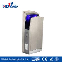 acier inoxydable fabricant Salle de bains wc électrique à double jet d'air sécheur à la main d'alimentation automatique