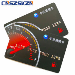 Zoll Belüftung-magnetischer Streifen VIP-Geschenk-Karten-Mitgliedschafts-konvexe Code-Karte