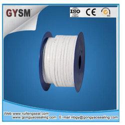 Trenzado de fibra de vidrio texturizada de embalaje de PTFE