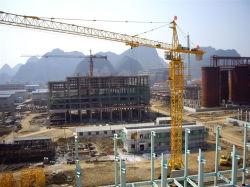 固定式固定構造トップキットのホットセール - 中国仕様のクレーンタワー Qtz31.5 ( TC4207 ) - 最大 負荷: 3t