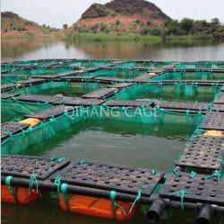 De Viskwekerij van de aquicultuur Met HDPE Frame/PE Netto Kooi