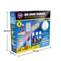 Big Bang-Wissenschafts-Farbe, die chemischen neuen Art-Wissenschafts-Installationssatz ändert