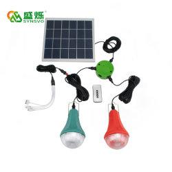 太陽発電機のホーム太陽系LED軽いキットリモート・コントロールIP55
