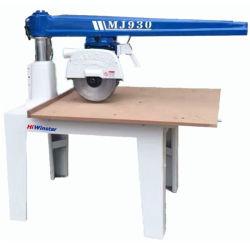 Mj930 350mm de diámetro de la madera de corte de madera de la sierra circular radial de la sierra de brazo radial