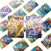 Tcgのカードを交換するPokemon V Vmaxの札のチームのため