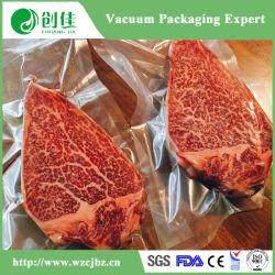 Saco Plástico alimentar PA PE salsicha de vácuo de embalagens de produtos hortícolas Bolsa Saco de peixe de carne
