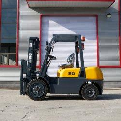 3ton 3.0Ton 3t Diesel Empilhadores Empilhadeiras 3 Ton 3,0 TON 3t 3000kg Toyota 7 modelo CE ISO com o motor Isuzu C240 Motor