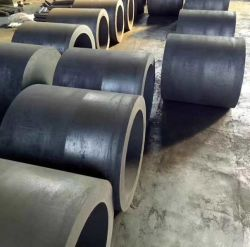 Crisol de grafito para fundir el cobre/horno de inducción fabricado en China