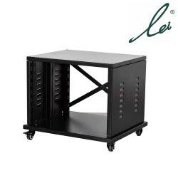 Netz-Server-Schrank-Gehäuse 19 Zoll-Server-Netz-Zahnstangen-Räder