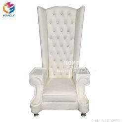 Стул короля/ферзя Antique мебели гостиницы с софой трона задней части максимума