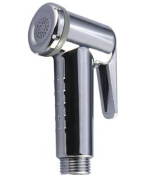 Ванные комнаты аксессуары, портативное устройство туалет биде опрыскиватель, пластик ABS душ хром