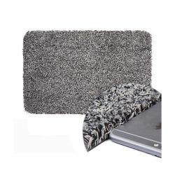 Нам горячий продажи грязь сорт Треппер Doormat Magic очистите шаг напольный коврик хлопок полиэфирная ткань из микроволокна вход для использования внутри помещений прочный мягкий коврик