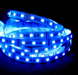 ضمان لمدة 3 سنوات DC24V Digital Rgbww/RGB+CCT خمسة رقائق 5 ألوان شريط مرن بتقنية LED ذكي من 48 مصباح LED/ M IC