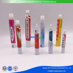 Farmaceutische buisverpakking kunststof zachte zalf aluminium gelamineerde buis