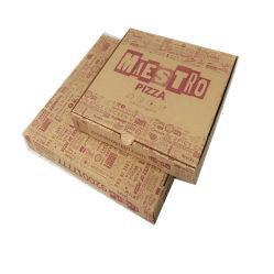 Pizza-Kasten-gewölbtes Papier (FP02000117)