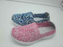 Удобные тканого обувь для леди