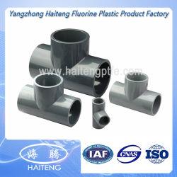 Té égal en plastique de l'ajustage de précision de pipe CPVC