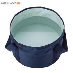 Benna di acqua piegante pieghevole di lavaggio portatile a perfetta tenuta esterna del contenitore