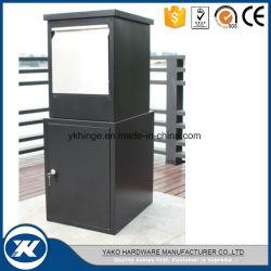 Neuer Entwurfs-Fußboden - eingehangener galvanisierter schwarze Stahlfarben-grosser Paket-Kasten