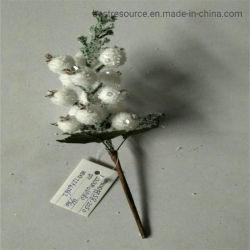 Рождественские украшения предметов Елочные венок со вкусом рождественские белого цвета фрукты резки фруктов