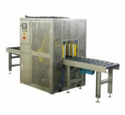 自動鋼管のアルミニウムプロフィールの水平の包む機械