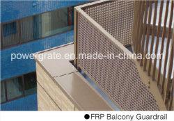 Grincement moulés en GRP Balcon rambarde