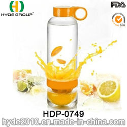 800 мл дешевые цены лимона Infuser бутылка воды, BPA свободного Тритан/PC фрукты Infuser бутылка воды (ПВР-0749)