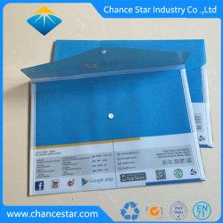 Plástico de promoción de un4 Archivo Carpeta portadocumentos