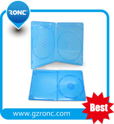 La fábrica Blue Ray de 10mm transparente Caja de CD DVD