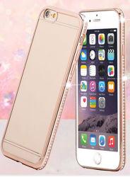 Bling Diamond Bouclier en aluminium métal Étui pour iPhone et Samsung